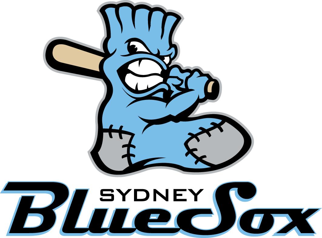 Sydney  Blue Sox Logo Primary Logo (2010/11-Pres) -  SportsLogos.Net