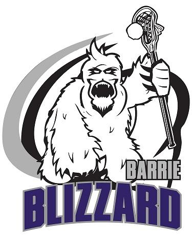 Barrie Blizzard Logo Primary Logo (2013-Pres) -  SportsLogos.Net
