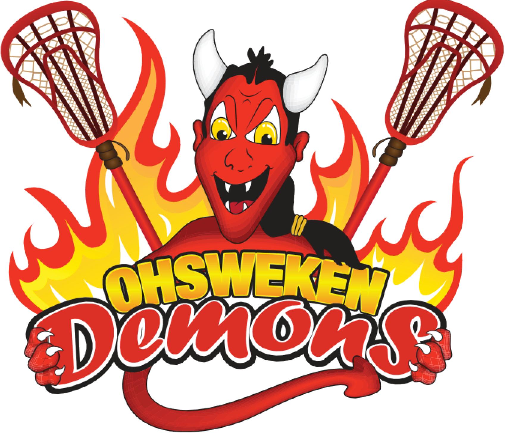 Ohsweken Demons Logo Primary Logo (2012-Pres) -  SportsLogos.Net