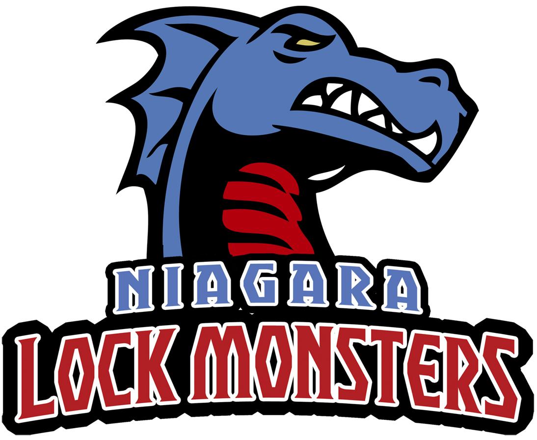 Niagara Lock Monsters Logo Primary Logo (2013-Pres) -  SportsLogos.Net