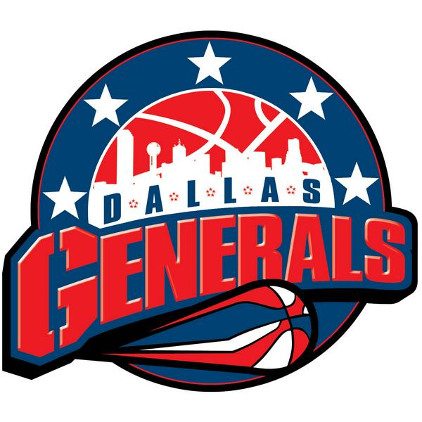 Dallas Generals Logo Primary Logo (2009/10) -  SportsLogos.Net