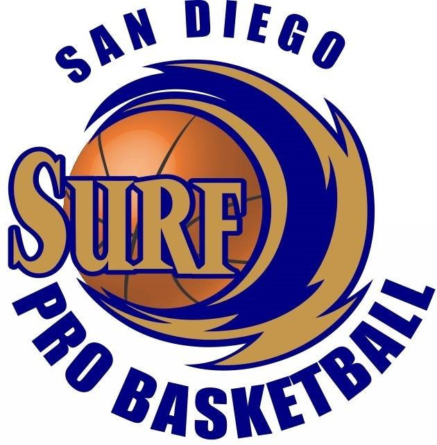San Diego Surf Logo Primary Logo (2011/12-2014/15) -  SportsLogos.Net