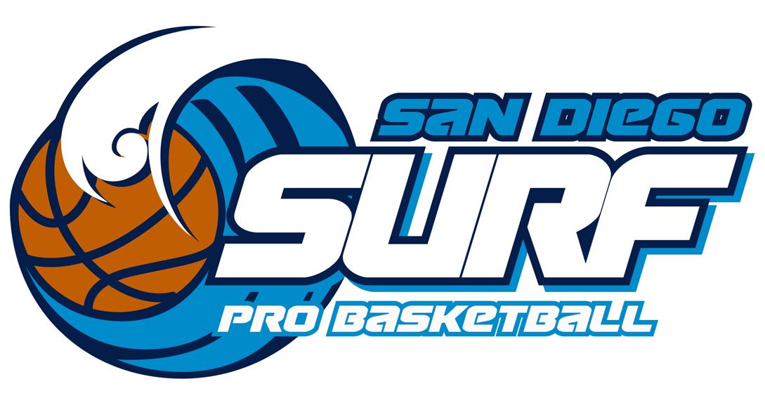 San Diego Surf Logo Primary Logo (2015/16-Pres) -  SportsLogos.Net