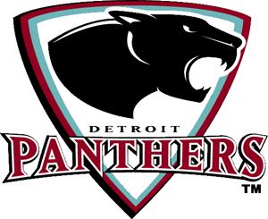 Detroit Panthers Logo Primary Logo (2006/07-2007/08) -  SportsLogos.Net