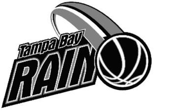 Tampa Bay Rain Logo Primary Logo (2012/13) -  SportsLogos.Net