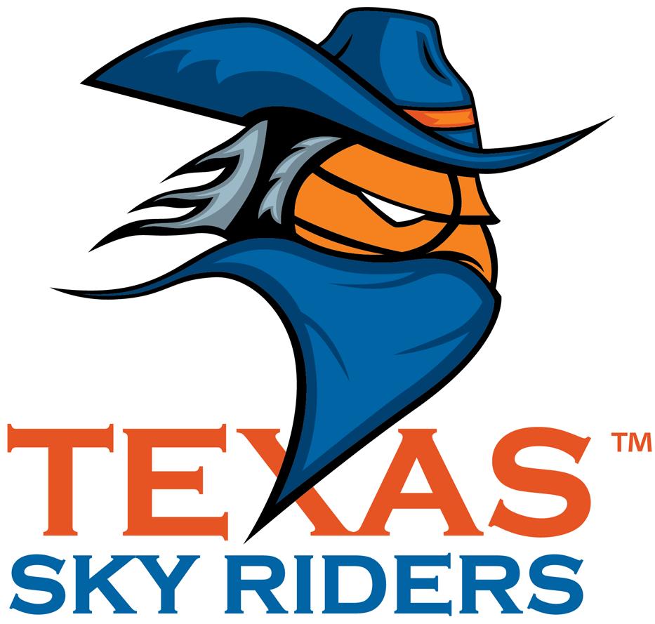 Texas Sky Riders Logo Primary Logo (2014/15-Pres) -  SportsLogos.Net