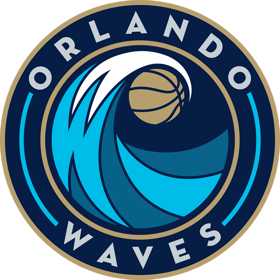 Orlando  Waves Logo Primary Logo (2016/17-Pres) -  SportsLogos.Net
