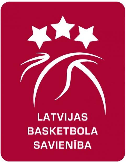 Latvia  Logo Primary Logo (2000-Pres) - Latvia Basketball Association (Latvijas Basketbola Savienība) SportsLogos.Net