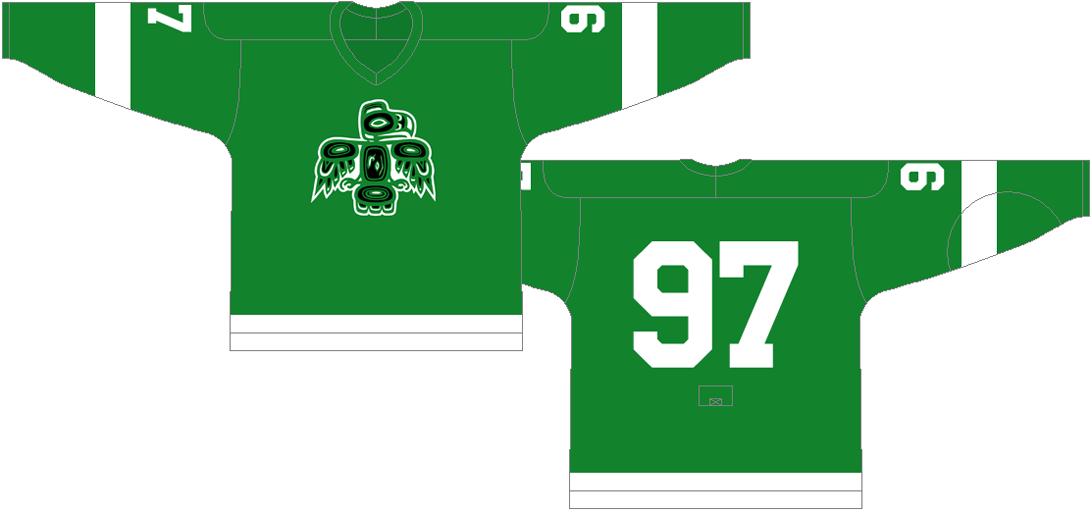 Seattle  Totems Uniform Home Uniform (1965/66-1973/74) -  SportsLogos.Net