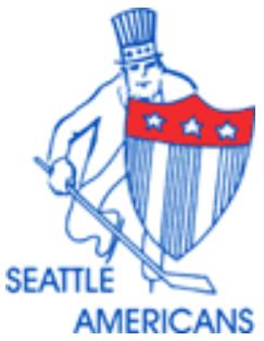 Seattle Americans Logo Primary Logo (1955/56-1957/58) -  SportsLogos.Net