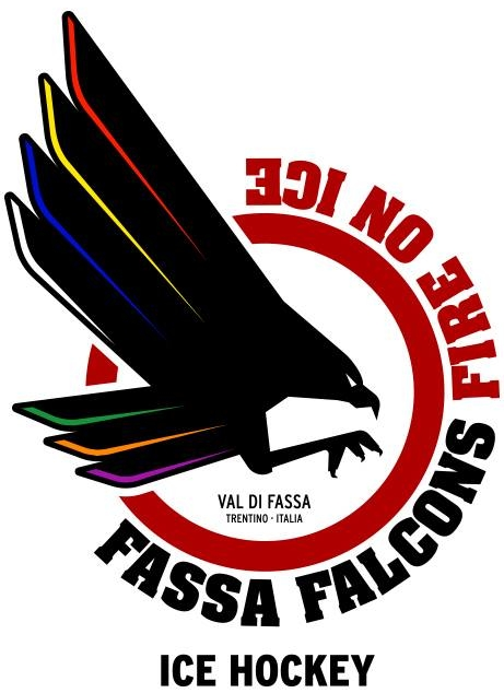 Fassa Falcons  Logo Primary Logo (2016/17-Pres) -  SportsLogos.Net