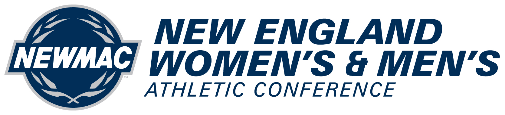 New England Womens and Mens  Athletic Conference Logo Wordmark Logo (2016-Pres) -  SportsLogos.Net