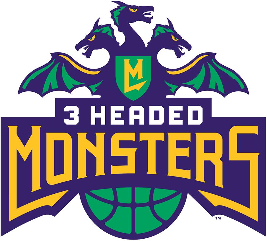 3 Headed Monsters Logo Primary Logo (2017-Pres) -  SportsLogos.Net