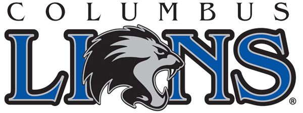 Columbus  Lions Logo Primary Logo (2017-Pres) -  SportsLogos.Net