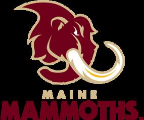 Maine  Mammoths Logo Primary Logo (2018-Pres) -  SportsLogos.Net