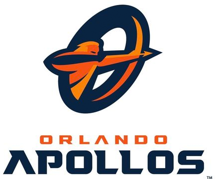 Orlando Apollos Logo Primary Logo (2019-Pres) -  SportsLogos.Net