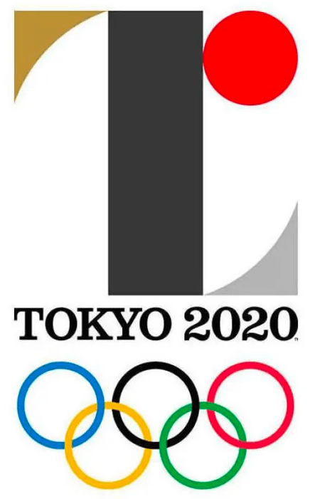 Summer Olympics Logo Unused Logo (2021) - The original logo for the 2020 Summer Olympics in Tokyo, this logo was officially unveiled before it was scrapped due to allegations of plagarism in the design. The logo showed a letter T for Tokyo with the red sun from the national flag of Japan SportsLogos.Net