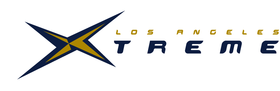 Los Angeles Xtreme Logo Wordmark Logo (2001) -  SportsLogos.Net