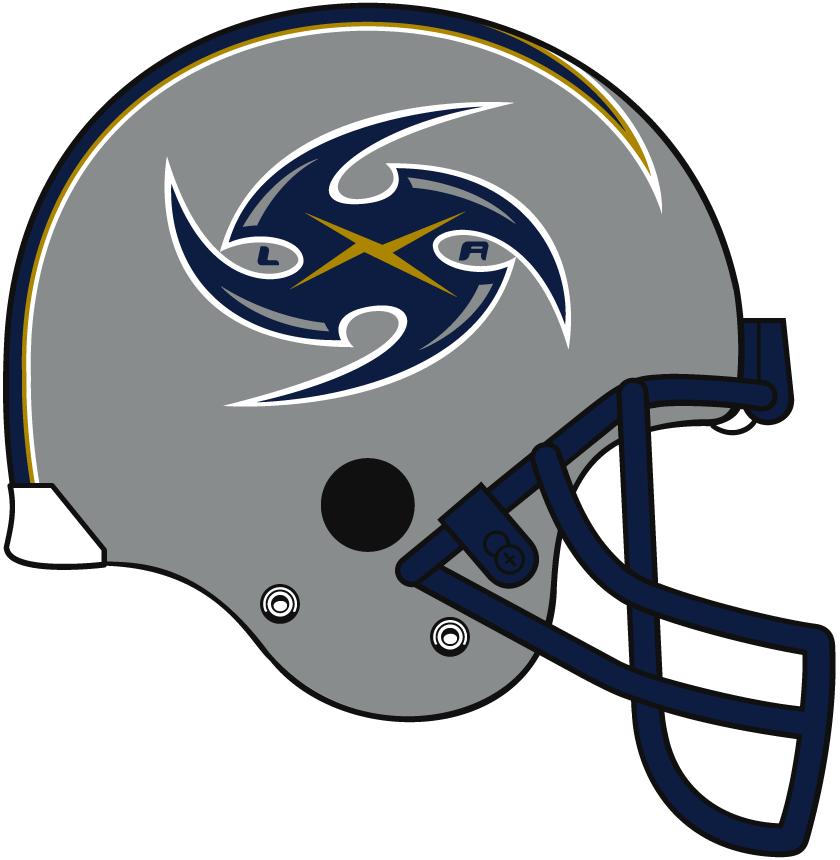 Los Angeles Xtreme Helmet Helmet (2001) -  SportsLogos.Net