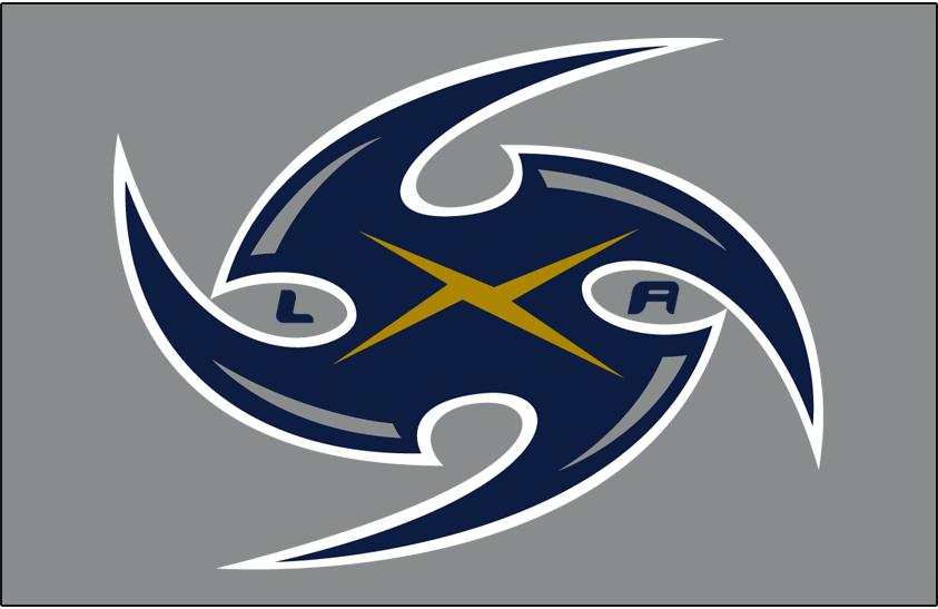 Los Angeles Xtreme Logo Helmet Logo (2001) -  SportsLogos.Net