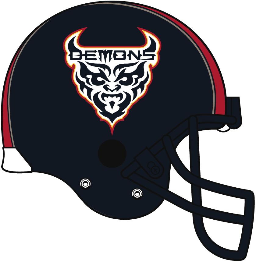 San Francisco Demons Helmet Helmet (2001) -  SportsLogos.Net