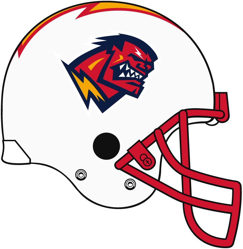 Orlando Rage Helmet Helmet (2001) -  SportsLogos.Net