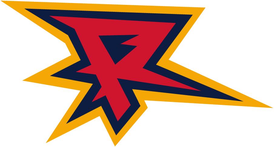 Orlando Rage Logo Alternate Logo (2001) - Red