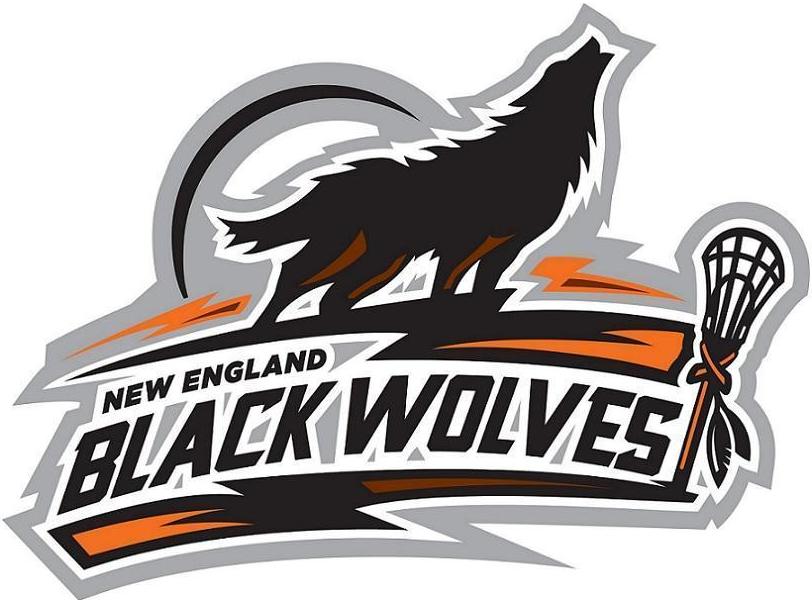 New England Black Wolves Logo Primary Logo (2014/15-Pres) -  SportsLogos.Net