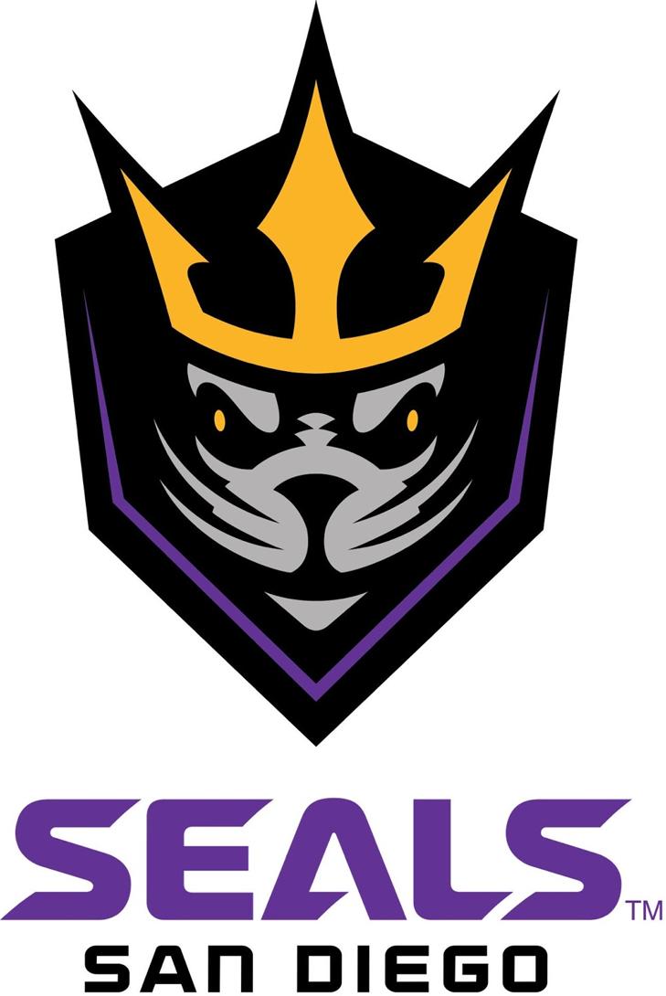 San Diego  Seals Logo Primary Logo (2018/19-Pres) -  SportsLogos.Net