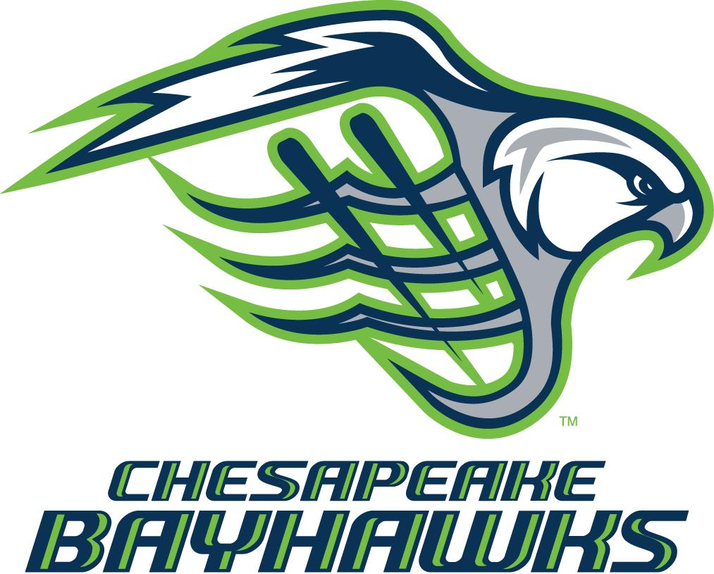 Chesapeake Bayhawks Logo Primary Logo (2014-Pres) -  SportsLogos.Net