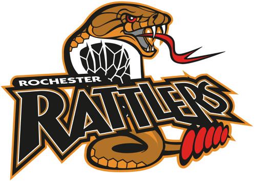 Rochester Rattlers Logo Primary Logo (2011-Pres) -  SportsLogos.Net