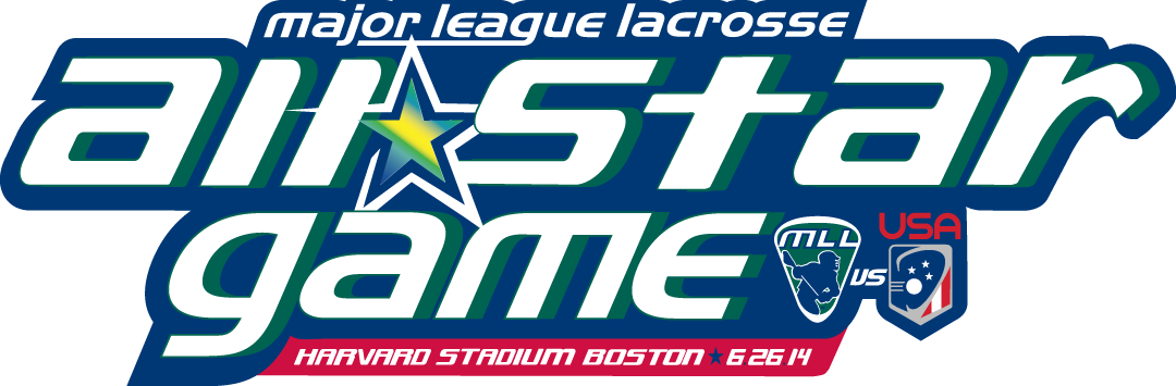 MLL All Star Game Logo Primary Logo (2014) - 2014 MLL All-Star Game - Harvard Stadium, Boston - MLL VS USA SportsLogos.Net