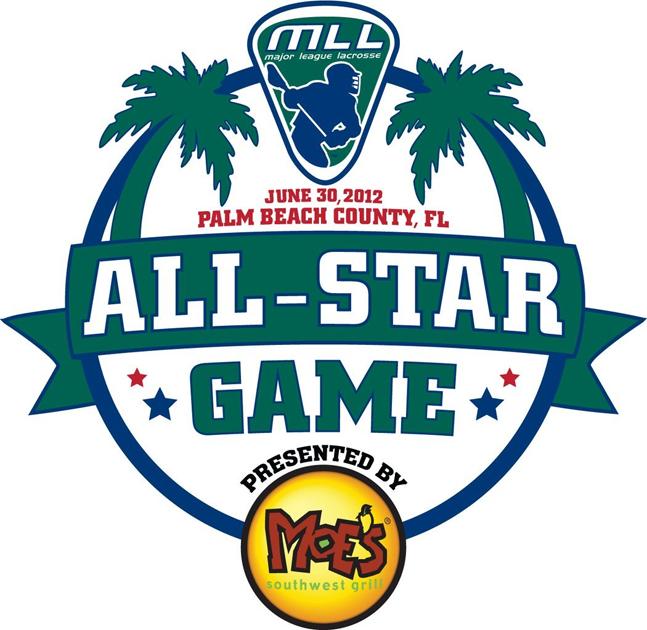 MLL All Star Game Logo Primary Logo (2012) - 2012 MLL All-Star Game - Palm Beach County, Florida SportsLogos.Net