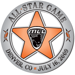 MLL All Star Game Logo Primary Logo (2009) - 2009 MLL All-Star Game - Denver, CO SportsLogos.Net