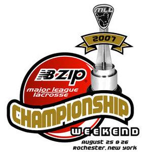 MLL Championship Weekend Logo Primary Logo (2007) - 2007 MLL Championship Weekend  SportsLogos.Net