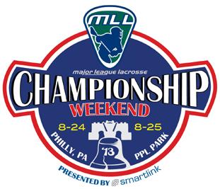 MLL Championship Weekend Logo Primary Logo (2013) -  SportsLogos.Net