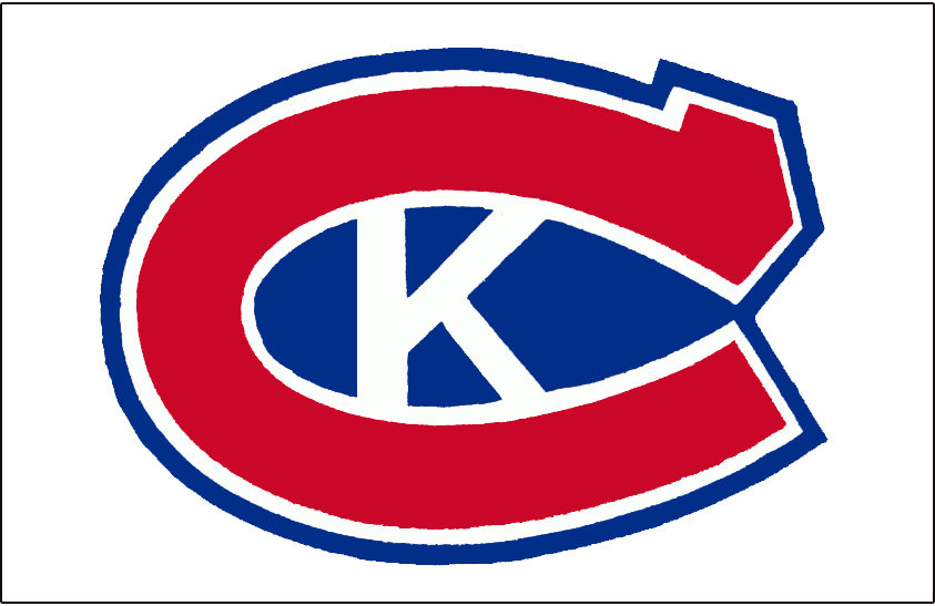 Kingston Canadians Logo Jersey Logo (1973/74-1987/88) - Red 'C' with white K created in the space between the 'C' - worn on Kingston Canadians white jersey from 1974/75 - 1987/88 SportsLogos.Net