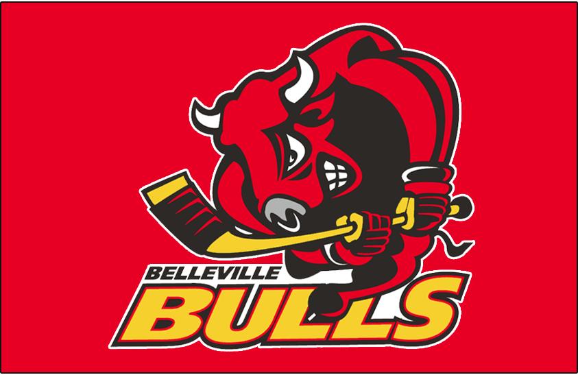 Belleville Bulls Logo Jersey Logo (1999/00-2002/03) -  SportsLogos.Net