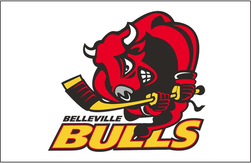 Belleville Bulls Logo Jersey Logo (1998/99-2014/15) -  SportsLogos.Net