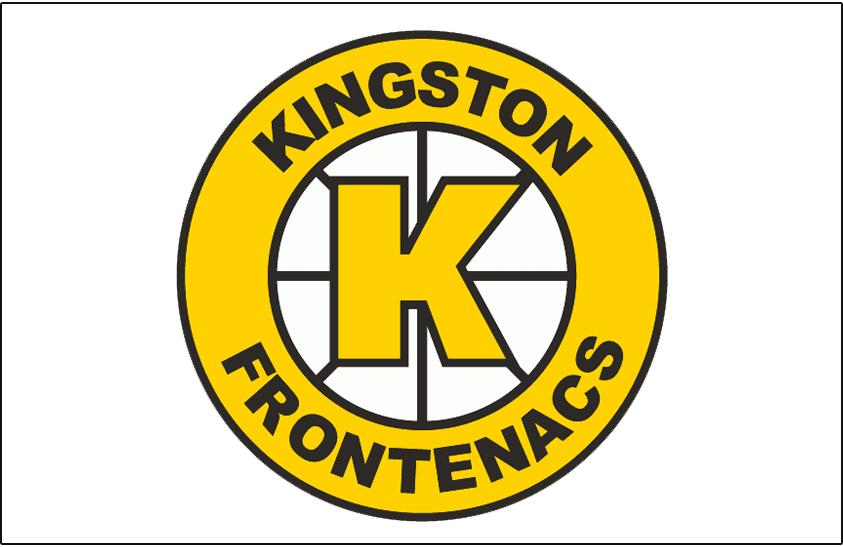 Kingston Frontenacs Logo Jersey Logo (1989/90-1997/98) -  SportsLogos.Net