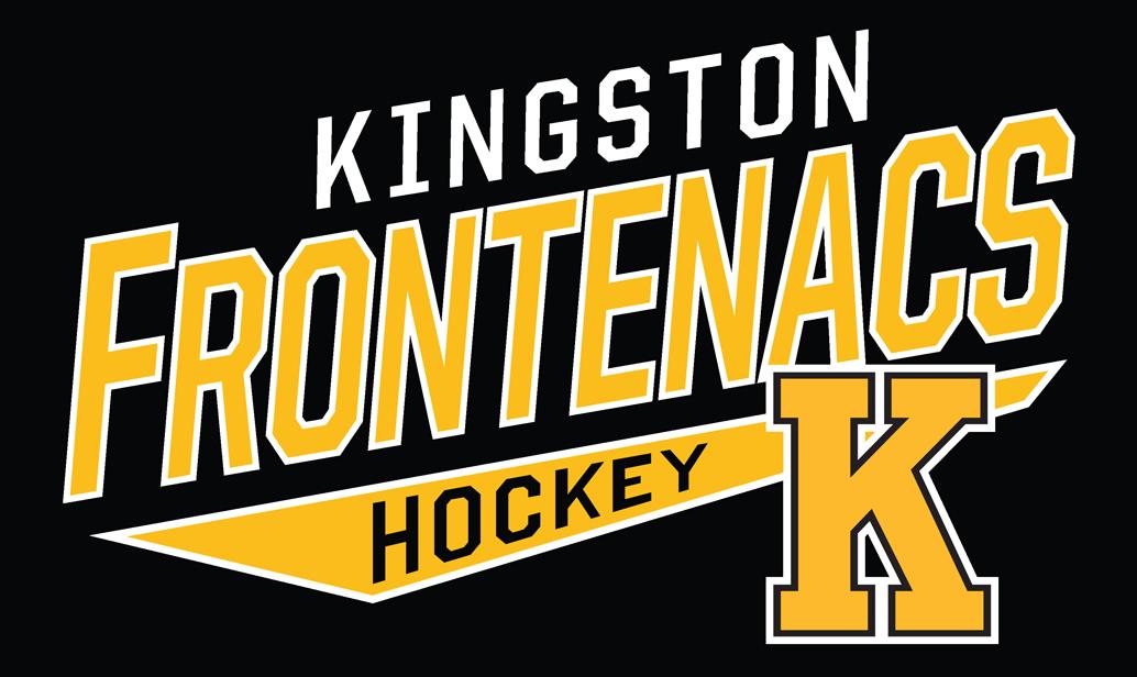 Kingston Frontenacs Logo Wordmark Logo (2015/16-Pres) -  SportsLogos.Net