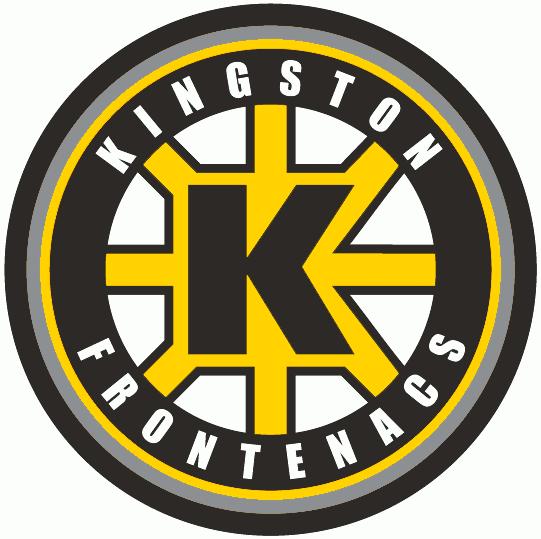 Kingston Frontenacs Logo Primary Logo (2009/10-2011/12) - A modernized version of the team's previous spoked 'K' logo SportsLogos.Net