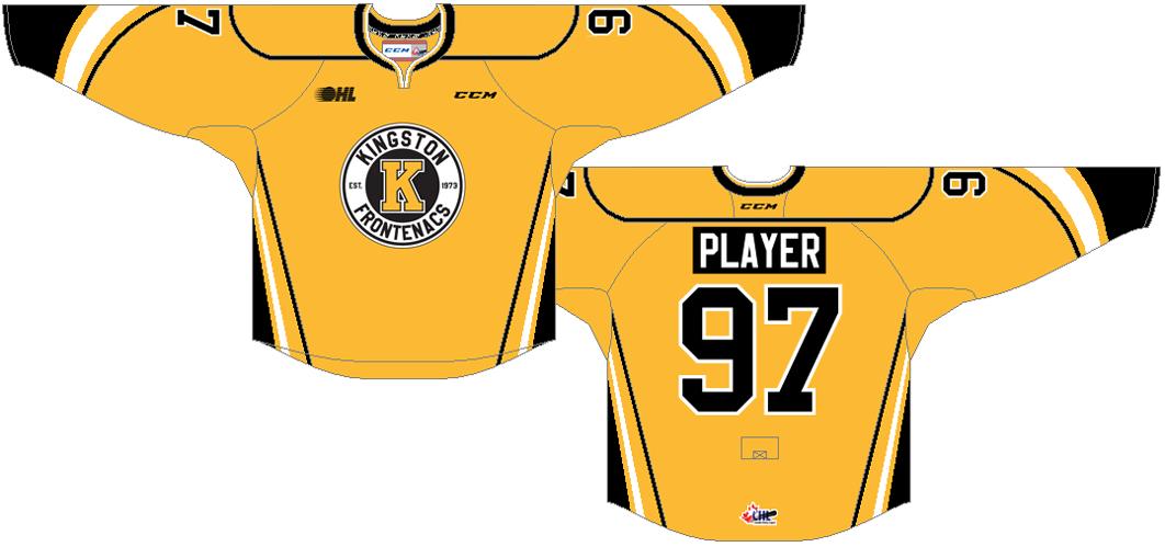 Kingston Frontenacs Uniform Alternate Uniform (2016/17-Pres) -  SportsLogos.Net