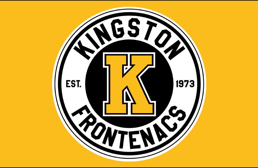 Kingston Frontenacs Logo Jersey Logo (2016/17-Pres) - Alternate jersey crest SportsLogos.Net