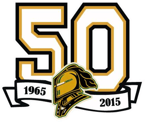 London Knights Logo Anniversary Logo (2014/15) - London Knights 50th anniversary logo SportsLogos.Net
