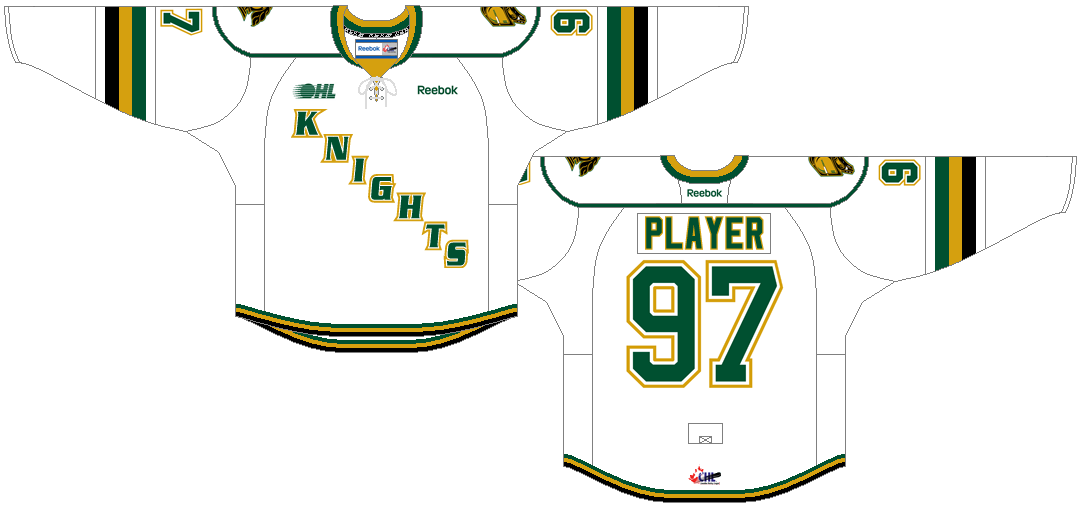 London Knights Uniform Home Uniform (2012/13-Pres) -  SportsLogos.Net
