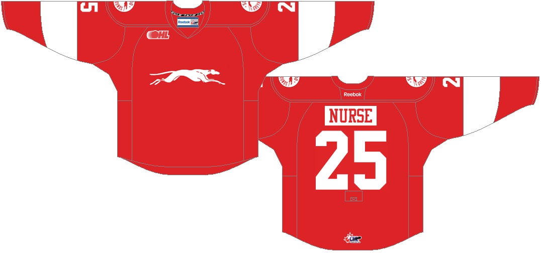 Sault Ste. Marie Greyhounds Uniform Alternate Uniform (2013/14-Pres) -  SportsLogos.Net