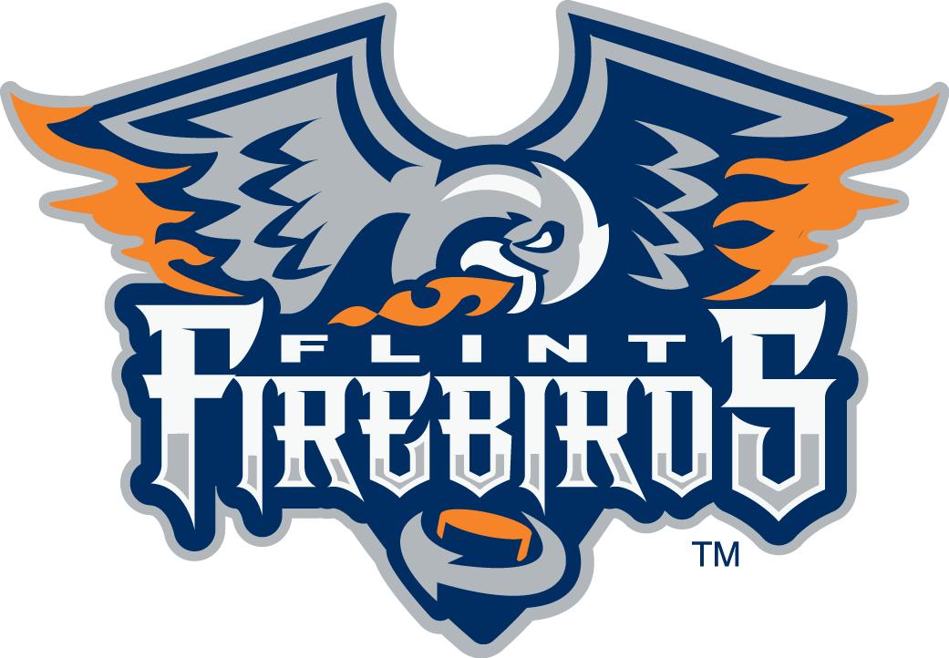 Flint Firebirds Logo Primary Logo (2015/16-Pres) -  SportsLogos.Net