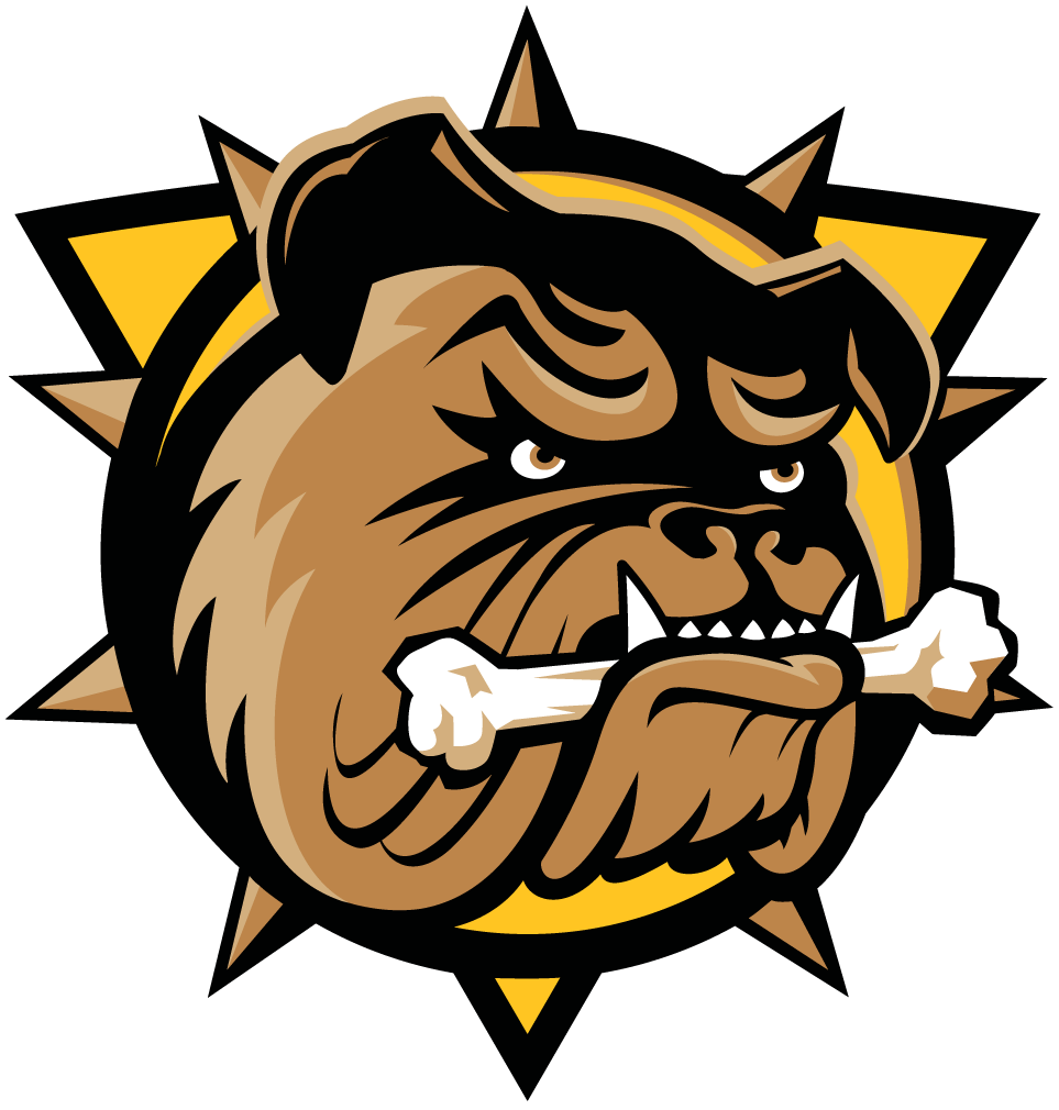Hamilton Bulldogs Logo Primary Logo (2016/17-Pres) -  SportsLogos.Net