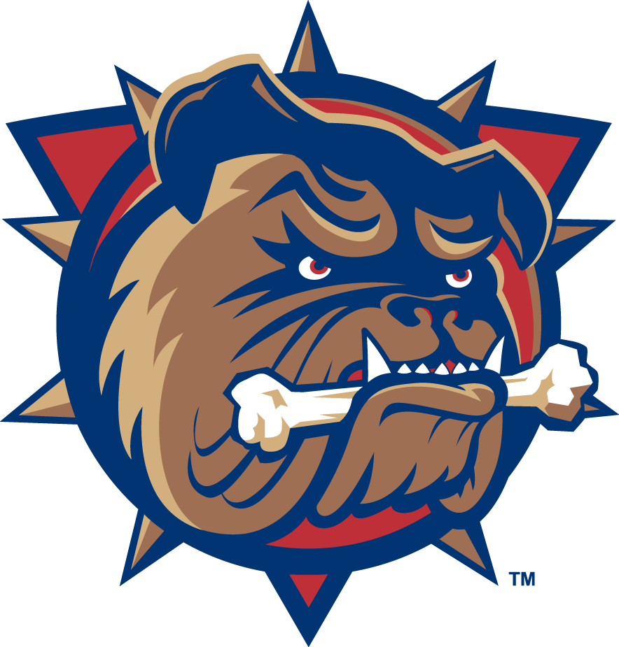 Hamilton Bulldogs Logo Primary Logo (2015/16) -  SportsLogos.Net